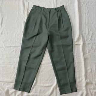 ロキエ(Lochie)の🌿vintage green slacks 🌙(カジュアルパンツ)
