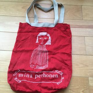 ミナペルホネン(mina perhonen)のミナペルホネン  バッグ(エコバッグ)