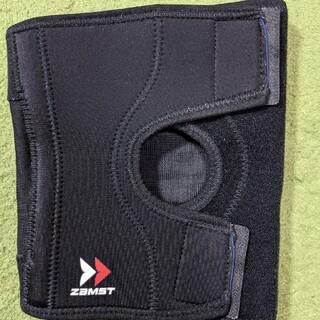 ZAMST - ZAMST Lサイズ 薄くて付けやすいけどしっかりサポートしてくれる膝サポーター