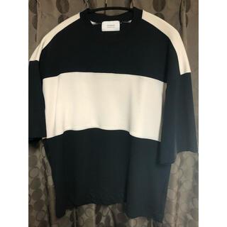 ステュディオス(STUDIOUS)のステュディオス パンチパイピングパネルTシャツ(Tシャツ/カットソー(半袖/袖なし))
