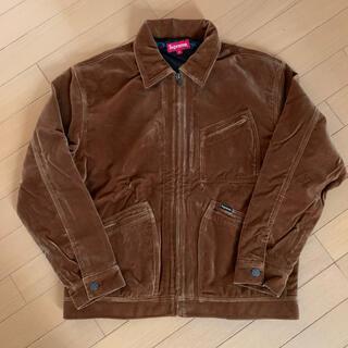 シュプリーム(Supreme)のSupreme velvet work jacket 2020aw(その他)