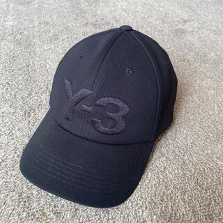 ワイスリー(Y-3)の新品同様 Y-3 キャップ 帽子 ブラック(キャップ)