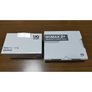 WiMAX2+SpeedWi-fiNEXT WX06 ホワイトとクレードルセット(PC周辺機器)