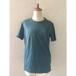 サイ(Scye)のscyeサイモスグリーンコットンTシャツめ(Tシャツ(半袖/袖なし))