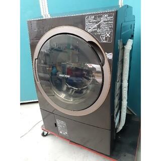 トウシバ(東芝)の東芝ドラム式洗濯乾燥機 11.0kgガラスタッチパネル TW-117X5L(洗濯機)
