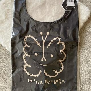 ミナペルホネン(mina perhonen)の完売品 新品タグ付きミナペルホネン エコバック Black 一点限り‼︎(エコバッグ)