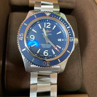 ブライトリング(BREITLING)のブライトリング スーパーオーシャン極美品  オートマチック 44(腕時計(アナログ))