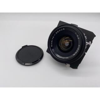マミヤ(USTMamiya)の【MAMIYA】MAMIYA-SEKOR 50mm F6.3 ボード付き 中判(レンズ(単焦点))
