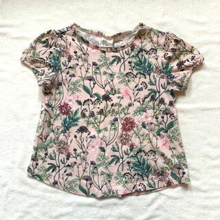 エイチアンドエム(H&M)のH&M Disney 花柄 半袖Tシャツ(Tシャツ)