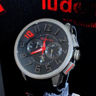 テンデンス(Tendence)のTendence テンデンス 10周年記念 チタニウム 腕時計(腕時計(アナログ))