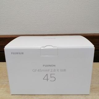 富士フイルム - 富士フィルム GF45mmF2.8 新品未使用