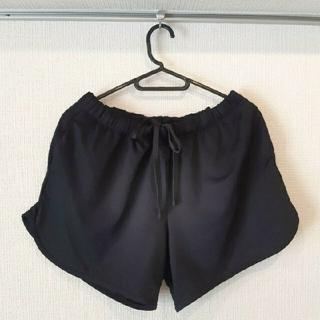 ジーユー(GU)のGU ショートパンツ ショーパン トレーニング スポーツウェア ブラック 黒(ランニング/ジョギング)
