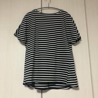 ニジュウサンク(23区)の23区 ボーダーTシャツ M(Tシャツ(半袖/袖なし))