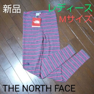 ザノースフェイス(THE NORTH FACE)の新品 THE NORTH FACE レギンス タイツ レディース Mサイズ(レギンス/スパッツ)