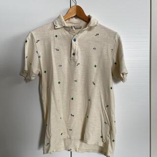 ジムマスター(GYM MASTER)のgym master アイボリーポロシャツ メンズ(ポロシャツ)