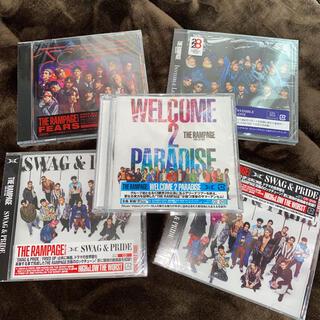 ザランページ(THE RAMPAGE)のTHE RAMPAGE CD シングル セット(ポップス/ロック(邦楽))