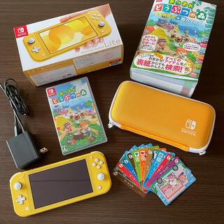 任天堂 - Nintendo switch light どうぶつの森セット