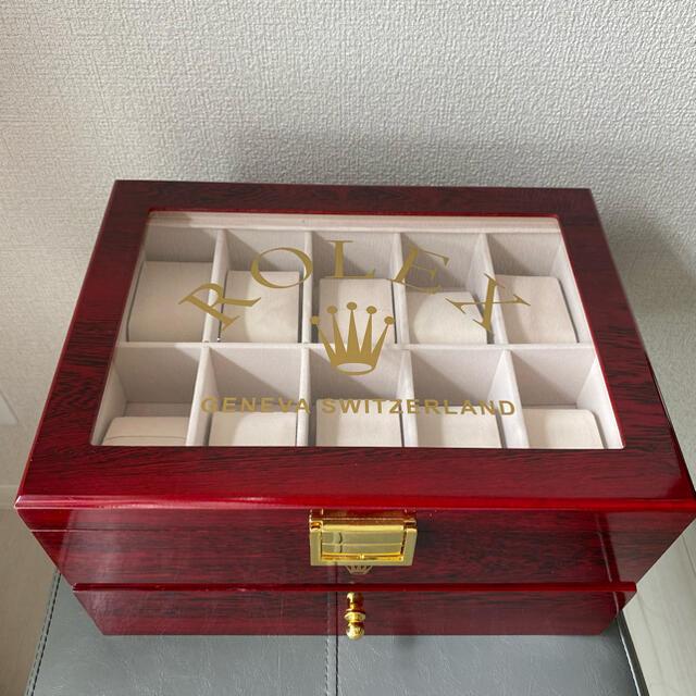 ROLEX(ロレックス)の☆美品☆ロレックス ディスプレイケース 非売品 20本収納 Rolex メンズの時計(その他)の商品写真