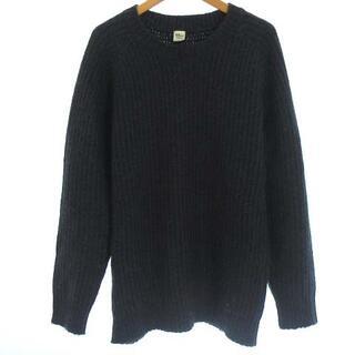 ロンハーマン(Ron Herman)のロンハーマン ニット プルオーバー セーター ウール モヘヤ混 長袖 グレー S(ニット/セーター)