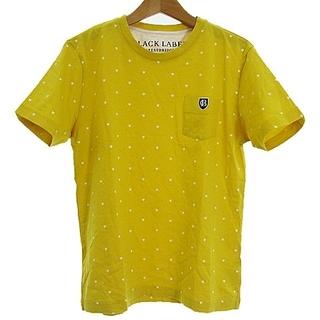 ブラックレーベルクレストブリッジ(BLACK LABEL CRESTBRIDGE)のブラックレーベルクレストブリッジ ポケット Tシャツ ハート ドット 半袖 黄2(Tシャツ/カットソー(半袖/袖なし))