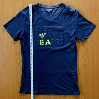 エンポリオアルマーニ(Emporio Armani)のエンポリオアルマーニ エンボスロゴカットソー サイズS トルコ製(Tシャツ/カットソー(半袖/袖なし))
