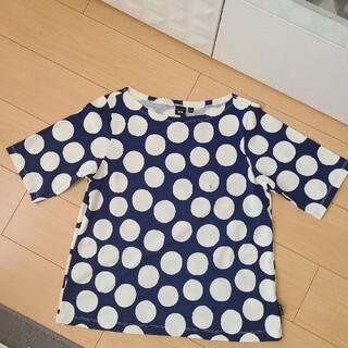 マリメッコ(marimekko)のmarimekkoマリメッコUNIQLOユニクロコラボTシャツS新品タグ付レア美(Tシャツ(半袖/袖なし))