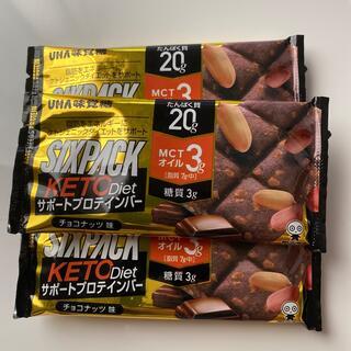 ユーハミカクトウ(UHA味覚糖)のUHA味覚糖 SIXPACK  KETO  Diet  サポートプロテインバー(プロテイン)