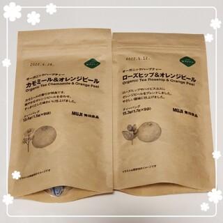 ムジルシリョウヒン(MUJI (無印良品))の送料込 無印良品 オーガニックハーブティー2点(茶)