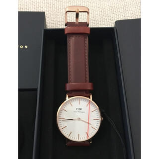 ダニエルウェリントン(Daniel Wellington)のダニエルウェリントン 腕時計 CLASSIC 36MM ローズゴールド(腕時計(アナログ))