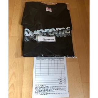 シュプリーム(Supreme)のSupreme Chrome Logo Tee  M(Tシャツ/カットソー(半袖/袖なし))