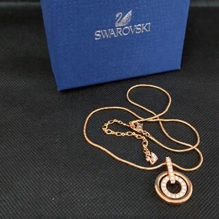 スワロフスキー(SWAROVSKI)のー新品未使用 SWAROVSKI スワロフスキー ネックレスー(ネックレス)