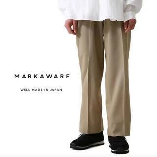 マーカウェア(MARKAWEAR)のMARKAWARE 21ss FLAT FRONT TROUSERS(スラックス)