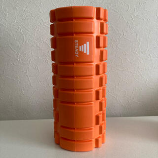筋膜リリース フォームローラー STEADY オレンジ(エクササイズ用品)