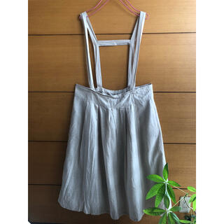 サマンサモスモス(SM2)のSamansa Mos2 サス付きスカート (ひざ丈スカート)