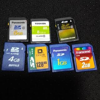 パナソニック(Panasonic)のSDカード 中古(PC周辺機器)