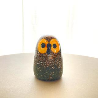 iittala - Burn Owl Oiva Toikka バード フクロウ 箱なし