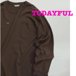トゥデイフル(TODAYFUL)のTODAYFUL トゥデイフル ソルト&シュガー Tシャツ ロンT トップス(Tシャツ(長袖/七分))