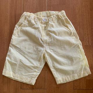 Branshes - BRANSHES 半ズボン 130 黄×白ストライプ