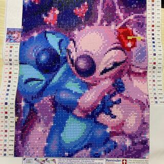 ディズニー(Disney)のディズニー ダイヤモンドアート完成品(絵画/タペストリー)