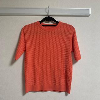 ディーホリック(dholic)の【dholic】サマーニットTシャツ(Tシャツ/カットソー(半袖/袖なし))
