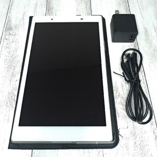 エヌイーシー(NEC)の[used]NEC タブレット PC-TE508HAW 8インチ 純正ケースあり(タブレット)
