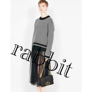 ディオール(Dior)のDIOR 千鳥格子セーター 2020年購入 CECIL様ご予約です(ニット/セーター)