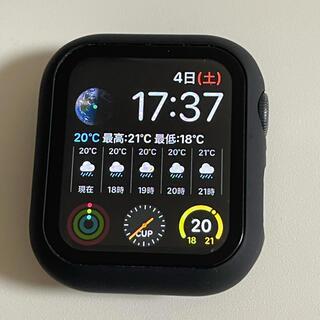 アップル(Apple)のApple Watch 5 GPS 40mm ガラスフィルム付 美品(その他)