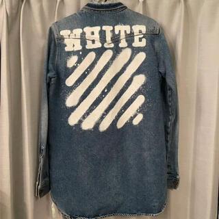 オフホワイト(OFF-WHITE)のoff-white デニム ジャケット シャツ (Gジャン/デニムジャケット)