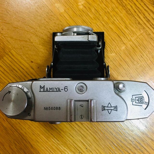 USTMamiya(マミヤ)のMAMIYA-6 蛇腹カメラ スマホ/家電/カメラのカメラ(フィルムカメラ)の商品写真