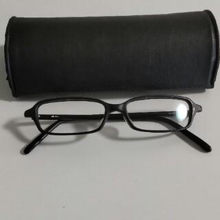 ムジルシリョウヒン(MUJI (無印良品))の無印 メガネ 眼鏡 度なし 黒縁 黒縁メガネ (サングラス/メガネ)