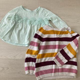 エイチアンドエム(H&M)の長袖トップス 80 (Tシャツ)