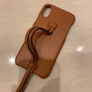 ロエベ(LOEWE)の美品 パロディ ロエベ風 iphoneケース X/XS(iPhoneケース)