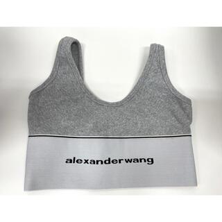 アレキサンダーワン(Alexander Wang)の【正規品】Alexander wang LOGO ELASTIC BRA(Tシャツ/カットソー(半袖/袖なし))