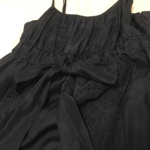ad2b6f85c4bd9 Banana Republic(バナナリパブリック)の専用 バナリパ ドレス M シルク 黒 ワンピース レディース